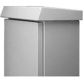 Hoffman ESSH5020 Solar Shield Top, COMLINE, Fits 500x200mm, Alum/Gray