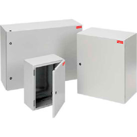 Hoffman G600600400G FUSION G7™ Wall-Mount Enc W/Gl Plate, 600x600X400mm