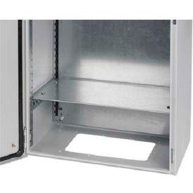 Hoffman GHS600325 Horizontal Separator, 600Wx325D, Steel/White
