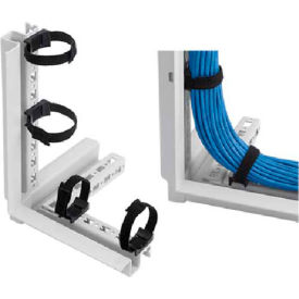 Hoffman PCMFTD10 PROLINE Frame Tie Down, Qty 10, Plastic