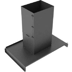 Hoffman PCPC69 Panel Roof Chmy 600x900 Blk, 5.63x39.71x23.50in, Steel/Black