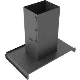 Hoffman PCPC89 Panel Roof Chmy 800x900 Blk, 5.63x39.71x31.38in, Steel/Black
