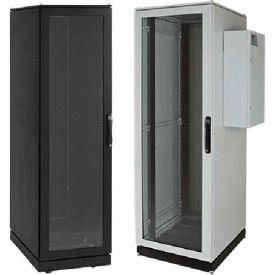 Hoffman PDCP2078B12 PROLINE™ Server Cab, Type 12, Std, 82.10x27.87x31.46in, Steel/Black
