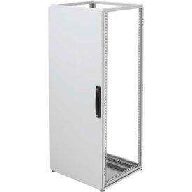 Hoffman PDS76R Door, Solid, Fits 700x600mm, Steel/LtGray
