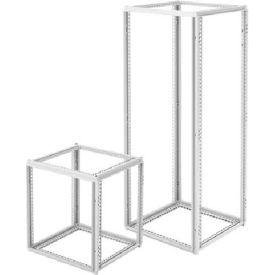 Hoffman PF20108 Modular Frame, Single Bay, 2000x1000x800mm, Steel/LtGray