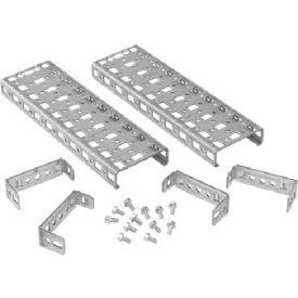 Hoffman PGH3S4 Grid Straps, 3 hole wide, 242x75mm, Steel/zinc