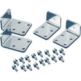 Hoffman PJB2F Joining Kit, Heavy Duty (4), Side to Side, Steel/zinc