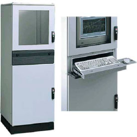 Hoffman PPC2068 PROLINE™ Modular PC Package, 2088x608x799mm, Steel/LtGray