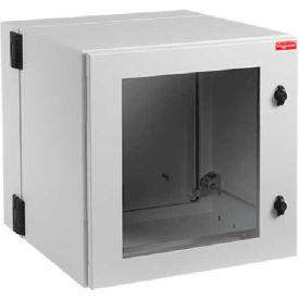 Hoffman PTHS162415G4 PROTEK™ DH Standard, 17.09x23.62x14.96, Steel/LtGray, Type 4/12