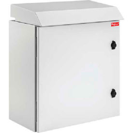 Hoffman PTRS362412G3 PROTEK™ Single Solid Door Fan Package, 36.30x23.62x11.81, Type 3R