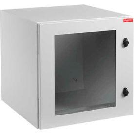 Hoffman PTRW242424G2 PROTEK™ Single-Door, UL and NEMA, 24.09x23.62x24.02, 12RU, Type NEMA 12
