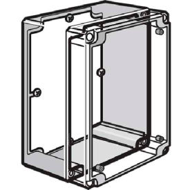 Hoffman Q128PD Panel, QLINE D, 91x65mm, Fits 120x80mm, Steel/zinc