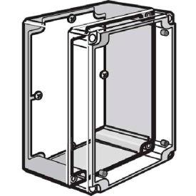 Hoffman Q168PD Panel, QLINE D, 131x65mm, Fits 160x80mm, Steel/zinc