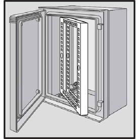 Hoffman UU6060SF Swing-Out Rack Frame 11U, Fits 625x612mm, Steel/zinc