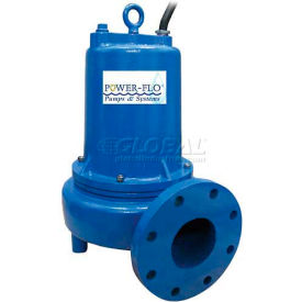"Power-Flo 4"" Pump, Single Seal, 5HP, 1750RPM, 230v, 1PH, 60Hz."