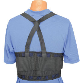 "Standard Back Support Belt, Adjustable Suspenders, Medium, 32-38"" Waist Size"