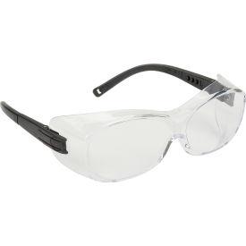 Ots® Eyewear Clear Anti-Fog Lens , Black Temples