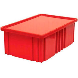 """Quantum Clear Dust Cover Inlays DDC92000CL For 16-1/2""""L x 10-7/8""""W Dividable Grid Containers - Pkg Qty 4"""