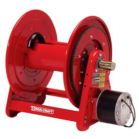 """Reelcraft EH37118 L12D 1""""x 100' 300 PSI Heavy Duty Electric Motor Driven Low Pressure Hose Reel"""