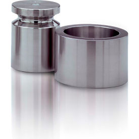 Rice Lake 2lb Cylindrical Weight Stainless Steel NIST Class F