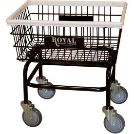 Wire Laundry Cart, Small, No Hanger