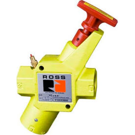 "Ross®-Y1523C6002 Valve manuelle verrouillage pneumatique, 1"" NPT"
