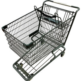 Two-Tier Steel Shopping Carts