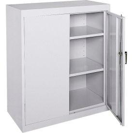 Sandusky Classic Series Counter Height Storage Cabinet CA21362442-05 - 36x24x42, Gray