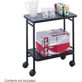 Safco 8965BL - Folding Beverage Cart