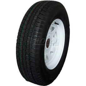 Sutong Tire ASR1129 Service Trailer Radial Tire ST235/80R16 - 10 Ply on 16 x 6 (8-6.5) HD Wheel