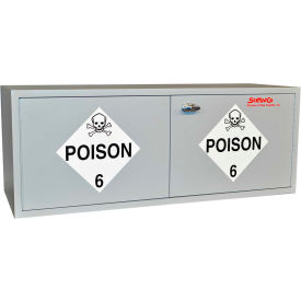 "16 Gallon, Stak-a-Cab™ Poison Cabinet, 47""W x 18""D x 18""H"