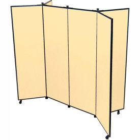 "6 Panel Display Tower, 6'5""H, Fabric - Desert"