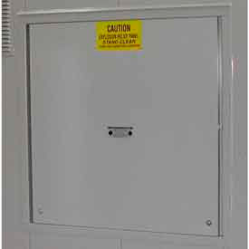 Explosion Relief Panel Upgrade for Outdoor Hazardous Storage Building - 24 Drum
