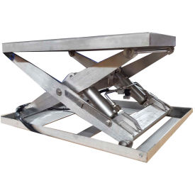Stainless Steel Powered Lift Tables