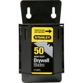 Stanley 11-937L Drywall ASB Utility Blades with Dispenser, 50 Pack