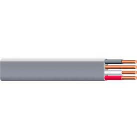 Southwire 14782702 UF-B Underground Feeder Cable, 6/3 AWG, 125 ft- Pkg Qty 1