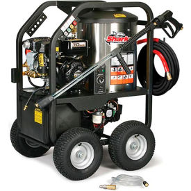 Shark SGP 3.5@ 3500 Honda Gx390 Electric Start Hot Water Pressure Washer