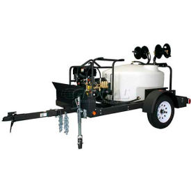 Shark Single Axle Trailer Package W/ BR-373537 Cold Water Pressure Washer