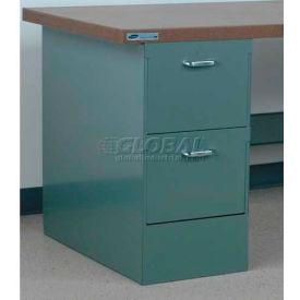 """Socle tiroir de Stackbin 2 # 3, 4-DCP2-16-BL, 15-1/2"""" W X 30 H «D X 30-1/4», bleu"""