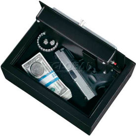 "Stack-On Personal Pistol Drawer Safe PDS-1500-DS w/Electronic Lock 11-13/16"" x 8-5/8"" x 4-3/8"",Black"