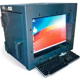 Amazing Strong Hold Small Desktop Computer Cabinet 18Quotw X Download Free Architecture Designs Rallybritishbridgeorg