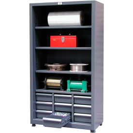 Strong Hold Combination Shelving Unit 40 x 20 x 72