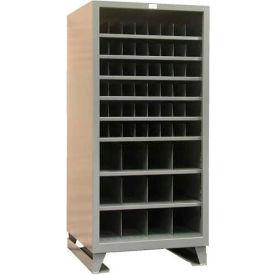 Strong Hold® Heavy Duty Open-Metal Bin Storage 368PH-51VD-SB - 36 x 36 x 78