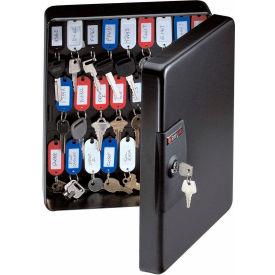 Armoire à clés SentrySafe KB-50, capacité de 50 clés, 9-7/16 po l x 3-15/16 po P x 11-13/16 po H, noir