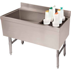 Advance Tabco CRCI-36L-7 - Ice Chest w/Coldplate & Right Side Insulated Bottle Storage Rack