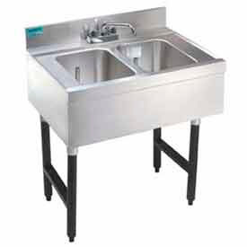Underbar Unit, 2 Comp Sink 18X24