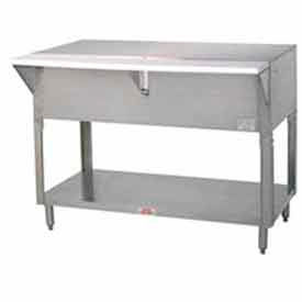 "Solid Top Table, 62.375""L Sliding Doors"