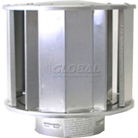 """SunStar 4"""" Vent Cap for Sidewall or Roof Vent 30297040- Pkg Qty 1"""