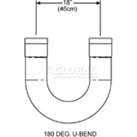 SunStar U-Bend Package - For U-Shaped Infrared Tube Heaters 43208020