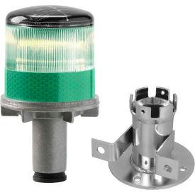 Feux à éclats à DEL à énergie solaire Tapco® 3337-00005, ampoule verte